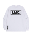 엘엠씨(lmc) LMC BOLD BOX LOGO LSV SWEAT TEE white