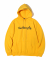 MARK GONZALES SIGN LOGO HOODIE  YELLOW