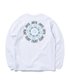 ROLLING LOGO LONG SLEEVE T-SHIRT(WHITE)_CTOGARL11UC2