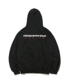 DSN Logo Hooded Sweatshirt Black