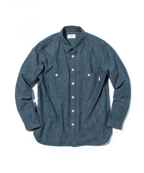 에스피오나지(ESPIONAGE) Cole Work Shirts Covert