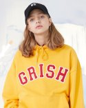 그리쉬(GRISH) G-Signature Hoodie-(YELLOW)