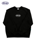 팔칠엠엠(87MM) [Mmlg] EMBROIDERY MMLG SWEAT (BLACK)