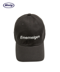 팔칠엠엠(87MM) [Mmlg] EMEMELGE BALLCAP (CHARCOAL GREY)