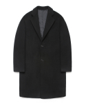 라퍼지스토어(LAFUDGESTORE) Wool Single Coat_Black