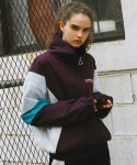 써치410(search410) [UNISEX] RETRO WINDBREAKER_VIOLET