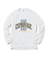 Athletic Logo L/S T-Shirts Off White