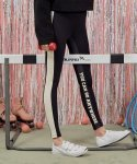로라로라(ROLAROLA) (LS-18554) SIDE COLOR LINE LEGGINGS BLACK