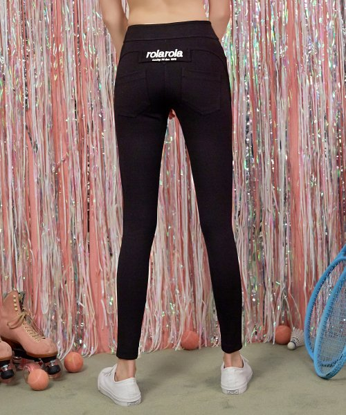 로라로라(ROLAROLA) (PT-18556) HIGH WAIST LEGGINGS PANTS BLACK