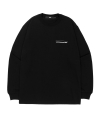 엘엠씨(lmc) LMC FN BAR LOGO LONG SLV TEE black