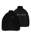 엘엠씨(lmc) LMC BOA FLEECE REVERSIBLE FULL ZIP JACKET black