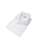 벨리프(BELLIEF) One piece collar solid shirt(White)
