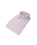 벨리프(BELLIEF) Pink Oxford stripe Button Down Collar(Pink)