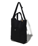 디얼스() CANVAS 2WAY TOTE BAG - BLACK