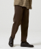 Rational One Tuck Easy Pants [Brown]