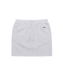 디스이즈네버댓() Sweat Skirt Light Grey