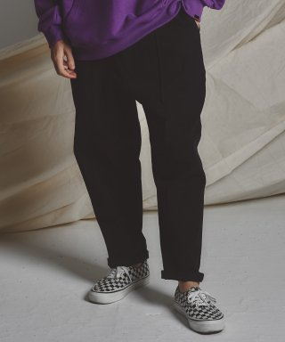 스테이지 네임(stagename) STG pintuck wide pants_BK