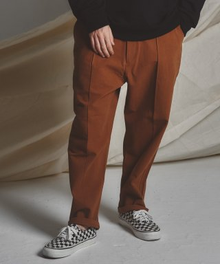 스테이지 네임(stagename) STG pintuck wide pants_CAMEL BR