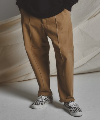 스테이지 네임(stagename) STG pintuck wide pants_BG