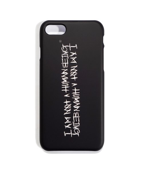 아임낫어휴먼비잉(I AM NOT A HUMAN BEING) [18FW] PHONE CASE ( IPHONE 7/8) - BLACK