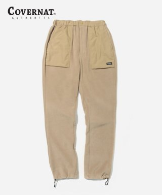 커버낫(covernat) FLEECE  FATIGUE PANTS BEIGE