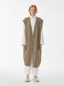 1297b4a3aa4 아무 코리아(AMU KOREA) UNISEX AMU WOOL LONG VEST