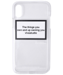 TEN BADGES I-PHONE CASE HA [WHITE]