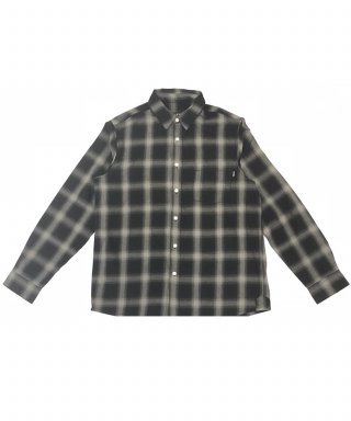 토피(toffee) C&C Check shirt (BLACK)