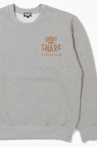 피스케이터(piscator) Great White Shark Grey