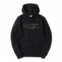 (I4)WeSC HOODIE(hooded sweatshirt.black)