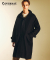 커버낫(covernat) WOOL MAC COAT BLACK