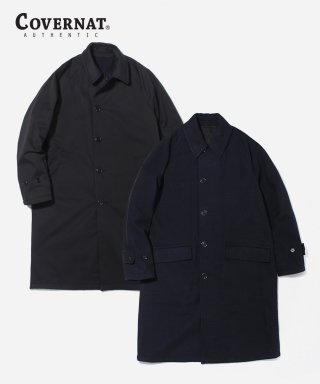 커버낫(covernat) WOOL REVERSIBLE COAT BLACK