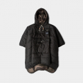 폴러스터프(POLERSTUFF) REVERSIBLE CAMP PONCHO BLACK