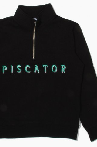 피스케이터(piscator) Half Zip Up Black