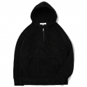 MKY Fleece Oversize Anorak Hood Black