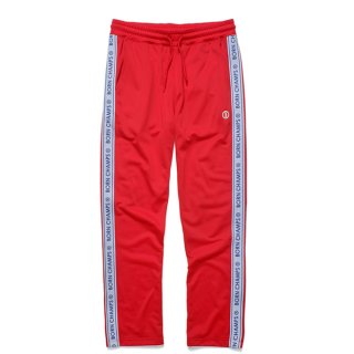 본챔스(bornchamps) BC LOGO TRACK PANT RED CERCMTP01RE