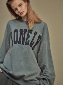 LONELY/LOVELY SWEATSHIRT SKY BLUE