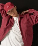쵸이지(choisi) Primary Trucker Jacket (Burgundy)