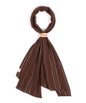 와일드 브릭스(WILD BRICKS) EN STRIPE SCARF (brown)