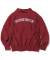 ARC-Logo S-Collar Sweatshirt Burgundy