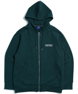 스텝온리(staffonly) REGULAR ZIPUP HOODIE (GREEN)