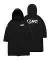 LMC CO TEAM PADDED LONG PARKA black