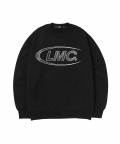 엘엠씨(LMC) LMC CO LOGO OVERLAP SWEATSHIRT black
