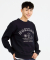 [750g] HORIZON SWEAT SHIRT -NAVY-