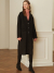 룩캐스트(LOOKAST) BLACK BASIC CASHMERE HANDMADE COAT