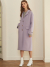 룩캐스트(LOOKAST) PURPLE BASIC CASHMERE HANDMADE COAT