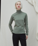밀로그램() Embo Turtleneck - khaki