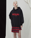 밀로그램() MLGM Napping Hoody - black