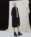 밀로그램() Filer Long Cardigan - black