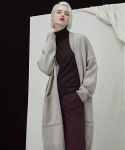 밀로그램() Filer Long Cardigan - beige